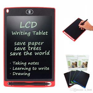 8,5 pouces LCD écriture planche à dessin tablette Tableau noir Handwriting Tapis cadeau pour adultes enfants sans papier Bloc-notes Comprimés Mémos Avec Pen Upgraded