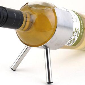 1pc New Metal Wine Rack 1 Bottles Wall Mounted Bar Wine Bottle Wine Storage Rack