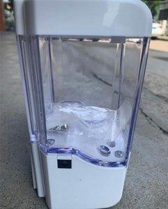 700ml automático dispensador de jabón líquido del sensor de montaje en pared dispensadores de jabón spray desinfectante sin contacto de jabón líquido de goteo del dispensador Por mar GGA3614