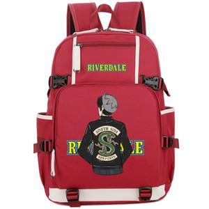 Ривердейл рюкзак Арчи Эндрюс рюкзак горячая телеспектакль школьный хороший рюкзак ноутбука рюкзак спортивная школа сумка открытый рюкзак