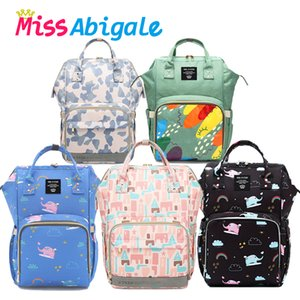 MissAbigale Diaper Bag For Mom Stroller Bags Nappy Bag Maternity Backpack Large Capacity Travel Backpack Baby Organizer