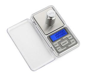مصغرة مقياس الجيب الالكترونية 200G المجوهرات 0.01g العرض LCD الماس مقياس مقياس التوازن مع حزمة البيع بالتجزئة
