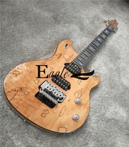 Eagle. Butterfly electric guitar, electric bass shop, rock and metal guitar , private custom map sticker, log color electric