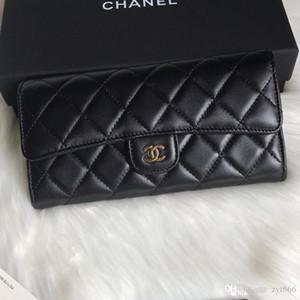Frau Langer Abschnitt Portemonnaie Luxus-Designer-Tasche M928O Leder rhombische Multi-Card-große Kapazität Frauenmappe Art und Weise stilvolle Handtasche oben