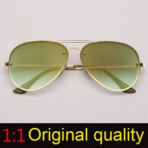 مصمم أعلى جودة الطيران النظارات الشمسية المرأة العلامة التجارية الطيار الشمس الزجاج أنثى الرجال الحريق فلاش الوردي مرآة UV400 gafas السوداء مكبرة