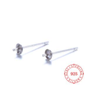 MOQ 50 пар высокого качества подлинной 925 Щепка ювелирные найти Классический Рыба серьги Крючки аксессуар серьги Pin