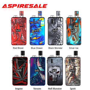 Cartuccia autentica Hugo vapore Kylin 30W Starter Kit 1000mAh batteria 3ml Pod con 0.49' display OLED