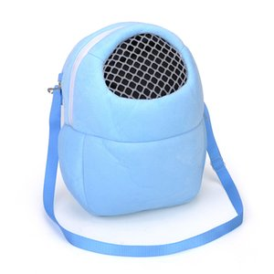 Cute Small Pet Carrier Rabbit Cage Bag Hamster Chinchilla Travel Warm Bags Cages Guinea Pig Carry Pouch Bag Breathable