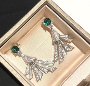 Luxury Designer Earrings Sector Skirt Earrings S925 Sterling Silver Post Dangle Earrings Party Wedding Lovers Gift