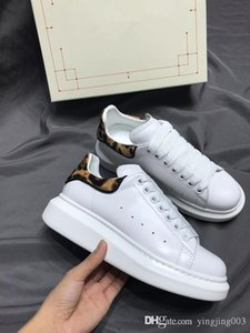 2020 Men Women Casual Shoes Fashion Luxury Brands Designer Sneakers Lace-up Running Shoes Leather 34-44