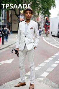 New Arrival Wedding Suits for Men TPSAADE 2 Pieces Wedding Tuxedos Jacket+Pants Custom Made Groom Suits Groomsmen Blazer