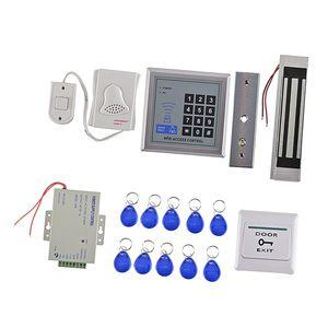 Sistema de Segurança Card Reader Porta Access Control Kits Lock Elétrica magnético