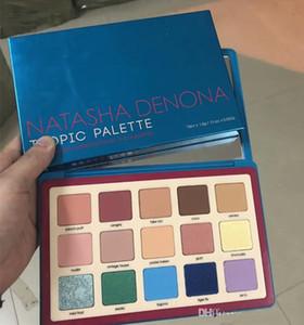 Dropshipping Natasha Denona paleta de maquiagem Tropic eyeshadow cosméticos paleta paleta da sombra highlighter para meninas 15 cores barato