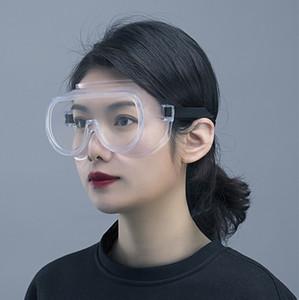 Professional Protective Goggle HD à prova de poeira 2pcs Anti-fog Ciclismo Óculos totalmente vedados Homens Mulheres esportes protecção Goggles