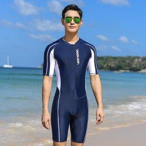 Résistant aux UV Wetsuit Stinger Combinaisons de plongée peau hommes Maillots de bain une pièce à manches courtes Jump Suit maillot de bain Vêtements de plage