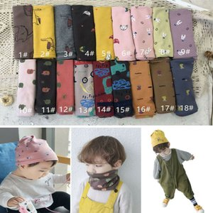 2019 Lovely Baby Kids Gills Boys Novelty Print Ring Scarf Neck and Hat Dual Purpose Apparel Accessories