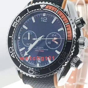 Mens Watch Date 600M pleine fonction Chrongraph SEA co-axiale Bond 007 Hommes Montres OS Mouvement Quarz Skyfall Elastique sport Montres-bracelets