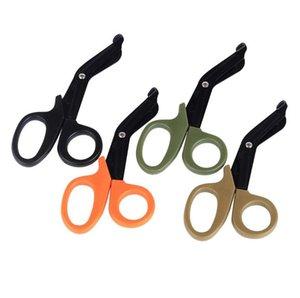 4 couleurs Tactical Gear Rescue Scissor pratique Trauma Gaze premiers soins d'urgence Ciseaux extérieur paramédics Scissor