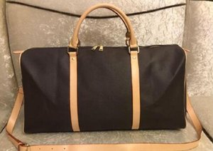 femmes sac de sport de haute qualité sacs de voyage Totes sac baluggage concepteur luxe Voyage hommes sacs à main en cuir PU grand sac fourre-tout corps croix 55cm