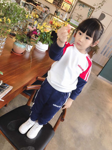 2019 autumn and winter new boys and girls sports shirt children's clothing children's brand-name clothing children's suit0366