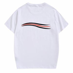 2020 Uomini Donne Coppie Moda Uomo T shirt di alta qualità casuale manica corta da uomo girocollo Tees 4 colori