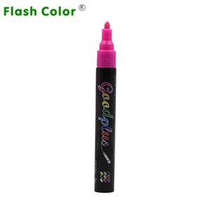 Flashcolor 8 Colours Highlighter Pen 5mm Pink Liquid Chalk Marker Pen Dual Nib Chalkboard Blackboard Crafts