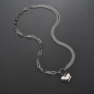 2021 Stainless steel Necklace Fashion Charm PunkNecklace LOVE Pendant