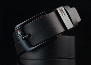 مصمم وصول دبوس مشبك بو الأحزمة الجلدية الجديدة للأزياء الرجال العلامة التجارية بو الجلود رجل حزام ceinture الذكور
