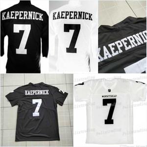 7 COLIN KAEPERNICK Homens IMWITHKAP JERSEY COLIN KAEPERNICK IM COM KAP Camisa de Futebol de Alta Qualidade Personalizado Personalizado Jerseys