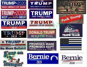 17 types de nouveaux styles Trump 2020 Autocollants de voiture 7,6 * 22.9cm autocollant pour voiture drapeau Gardez Marque Amérique Grande Decal pour la voiture Styling Véhicule Paster DHL