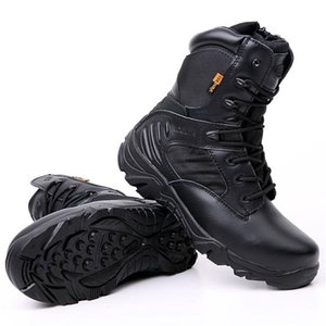 Men's Delta Military Tactical Boots High Quality Waterproof Non-Slip Outdoor Travel Shoes Black Sand Desert Boots Men Outdoor Shoes