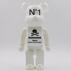 Новый 400% Шаньтоу Bearbrick насильственный медведь рука модель игрушки настольные украшения день рождения Рождественский подарок HD24