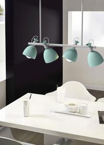 DHL New Nordic New Design Luces colgantes Lámpara colgante de madera para mesa de comedor Lámpara de barra colorida Accesorios de iluminación LED para interiores