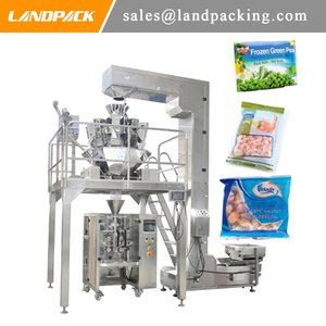Frozen Green Beans Vertical Form Fill Seal Packing Machine Frozen Food Packaging General Purpose