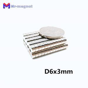 2019 imanes 100Pcs 6x3 magnete al neodimio disco permanente N35 NdFeB piccolo rotondo super potente magneti magnetici 6mm x 3mm