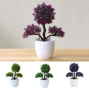 Fake Plant Simulation Flower Artificial Tree Lightweight Beautiful Fashion Plastic Decoration Garden Wedding Ornament Handmade