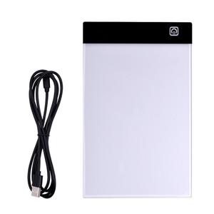LED A5 디지털 태블릿 라이트 박스 그래픽 태블릿 쓰기 그림 디밍 가능 밝기 추적 보드 복사 패드 디지털 도면