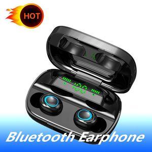 S11 اللاسلكي سماعة سماعات بلوتوث 5.0 TWS سماعات لاسلكية سماعات الضوضاء الغاء سماعة أذن يدوي