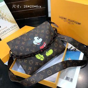 2020 New women handbag shipping bag High-quailty Genuine leather brand bag fashion luxury Accessories free shipping 062460
