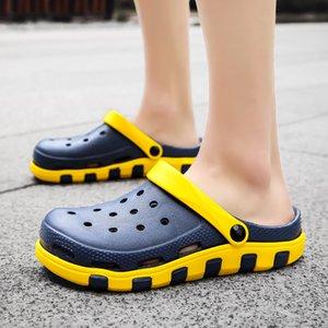 2020 Männer Sandalen Crocks LiteRide Loch Schuhe Crok Rubber Clogs für Männer EVA Unisex Garten Schuhe Schwarz Crocse Adulto Cholas Hombre