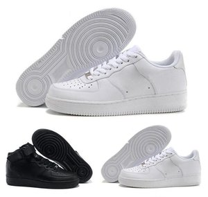 2020 Slippers High quality latest men's fashion low-top white forced shoes ladies black like neutral high-top one casual shoes