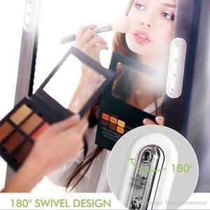 Baterias LED sensor de toque luz branca sem fio em gabinete Empurrar Tocar Toque Vara 4 Lâmpada LED Night Lamp Trabalho Emergência Luz BC BH1181
