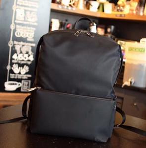 2020 F HOME de haute qualité sac à dos imperméable mode femme toile noir et cuir dames sac marque unisexe importé sac à dos en cuir