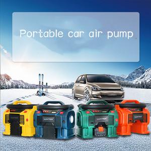 Pompe pneumatique à bord Véhicule électrique Coussin pneumatique pour lit de coussins d'air Pneumatique Blow-Suction pour chargement et dégonflage portatif