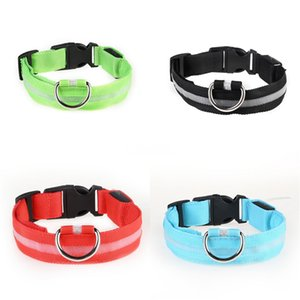 20Ss Checked Pet Collars Little Teddy Puppy Schnauzer Leashes Fashion Dog Leather Led Collar Set High Quality Free Shipping #256