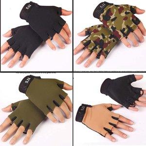 Велосипедные перчатки половина пальца дышащие Велосипедные перчатки Мужчины Женщины обучение спортивные перчатки вождение открытый тактический CS Mountain Weightlifting M-XL