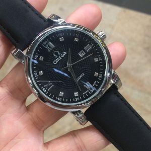 Atacado couro Mens Moda Watch Maserati Esporte Relógios Strap Quartz Movement Cheap Venda presente Relógio de pulso Montre Homme