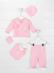 Baby suits girls boys clothes 5 pcs set casual cotton antiallergic fabric newborn babies clothing models T200706
