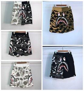 Casual Medo calças brancas de de Atacado Moda Marca Ape calças de camuflagem tubarão Boca Justin Bieber Juventude Shorts Homens Off de Deus baratos Venda