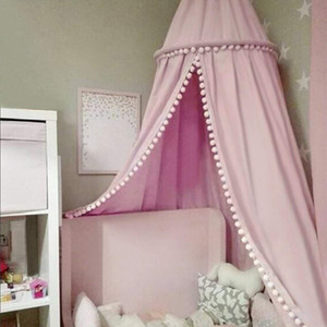Cotton Baby Canopy Mosquito Net Anti Mosquito Princess Bed Canopy Children Room Decoration Bed Canopy Pest Control Reject Net